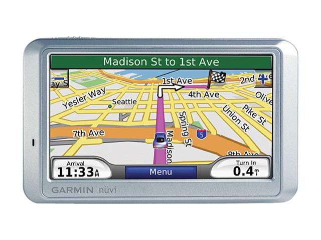 Garmin   Wide Screen English Speaking Gps Handheld And Driving Same As Above Plus Widescreen And Text To Speech Of Road Names